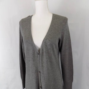 H By Halston Long Duster Cardigan Sweater